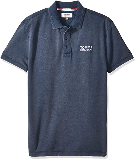 Tommy Jeans Hombre Summer Pique Polo Manga Corta Camisa polo ...