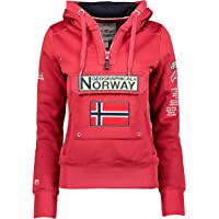 Geographical Norway Gymclass - Sudadera con capucha para mujer