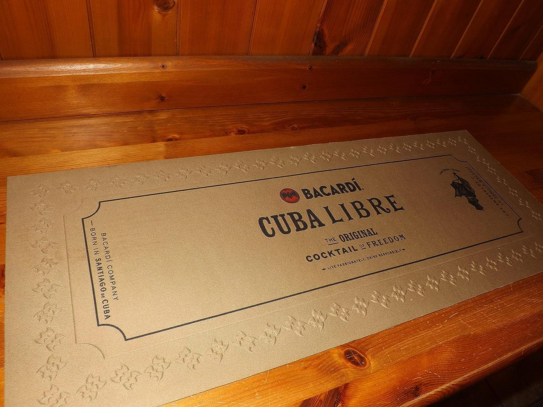 Bacardi Cuba Libre Bar (62 cm x 24 cm