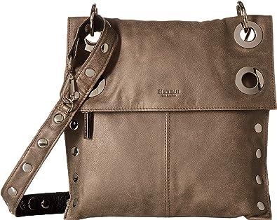 Hammitt Women s Montana Rev Black Pewter Silver One Size  Handbags ... 0438620301bb3