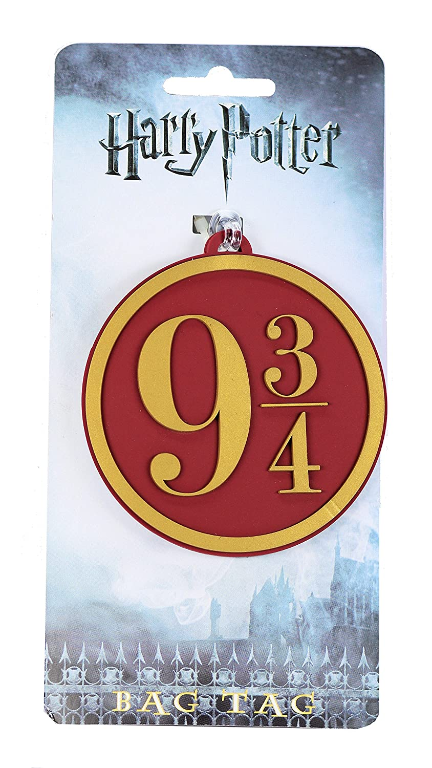 Harry Potter Hogwarts Express 9 3/4 Heavy PVC Luggage Bag Tag by Harry Potter O158520