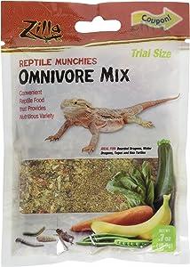 Zilla Omnivore Reptile Munchies Reptile Food, .7 oz.