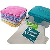 Cheeky Wipes Hand- und Gesichtstücher, waschbare Babytücher