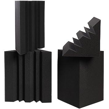 Amazon.com: Addictos de sonido – Corner Bass Traps (4 ...