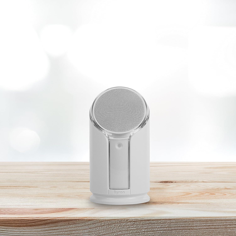 Byron BYR301 Kit Carillon blanc flash Sonnette