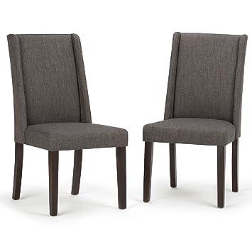 Amazon.com: simpli home Sotherby Deluxe silla de comedor ...