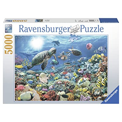 Ravensburger Beneath The Sea 5000 Piece Jigsaw Puzzle for Adults – Softclick Technology Means Pieces Fit Together Perfectly: Toys & Games [5Bkhe0706770]