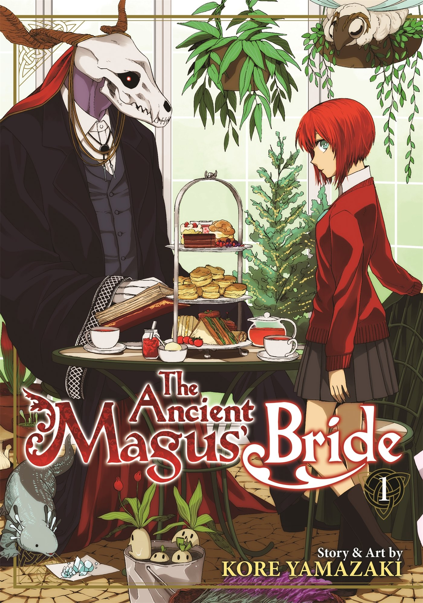 The Ancient Magus' Bride Vol 1: Kore Yamazaki: 9781626921870: Amazon:  Books