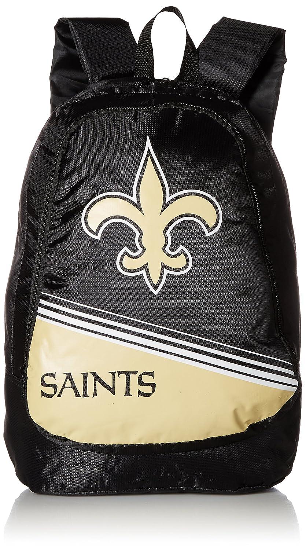 Foco NFLユニセックス2015ストライプCoreバックパック B00WIUVCGQ チームカラー One Size One Size|チームカラー|New Orleans Saints