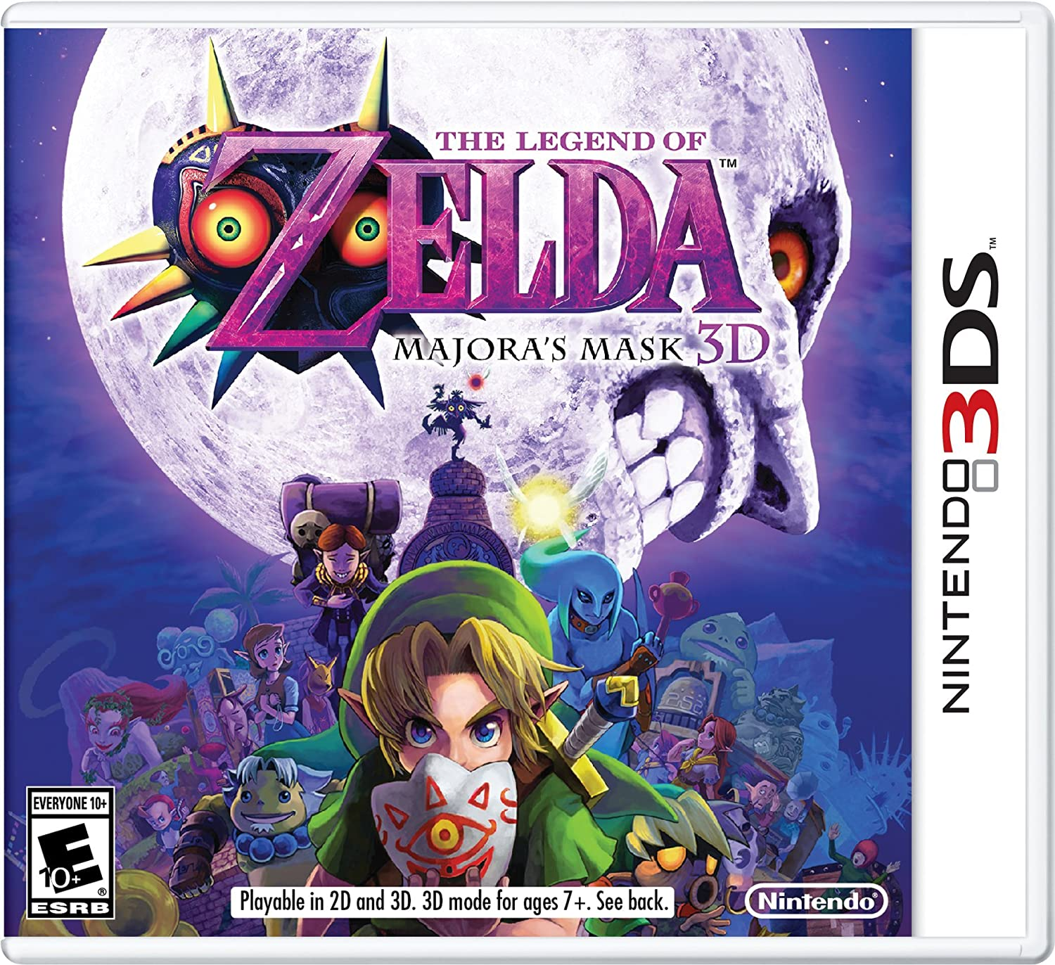 Amazon com: The Legend of Zelda: Majora's Mask 3D: 3DS