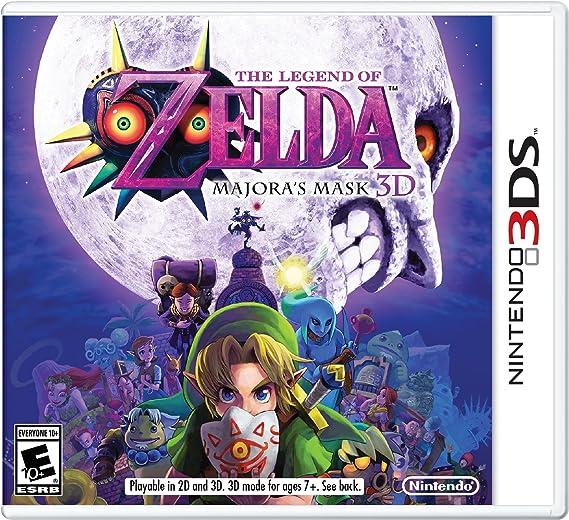 The Legend Of Zelda Majora S Mask 3d Nintendo 3ds Standard