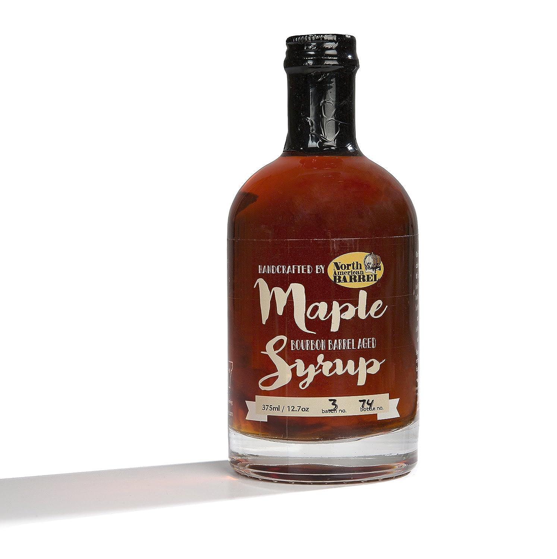 Amazon.com : North American Barrel Bourbon Barrel Aged Maple Syrup ...
