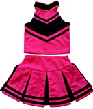 Little Girls' Cheerleader Cheerleading Outfit Uniform Costume Cosplay Halloween