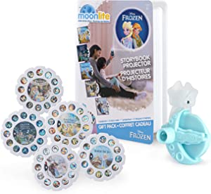 Moonlite, Frozen Gift Pack with Storybook Projector For Smartphones & 5 Story Reels