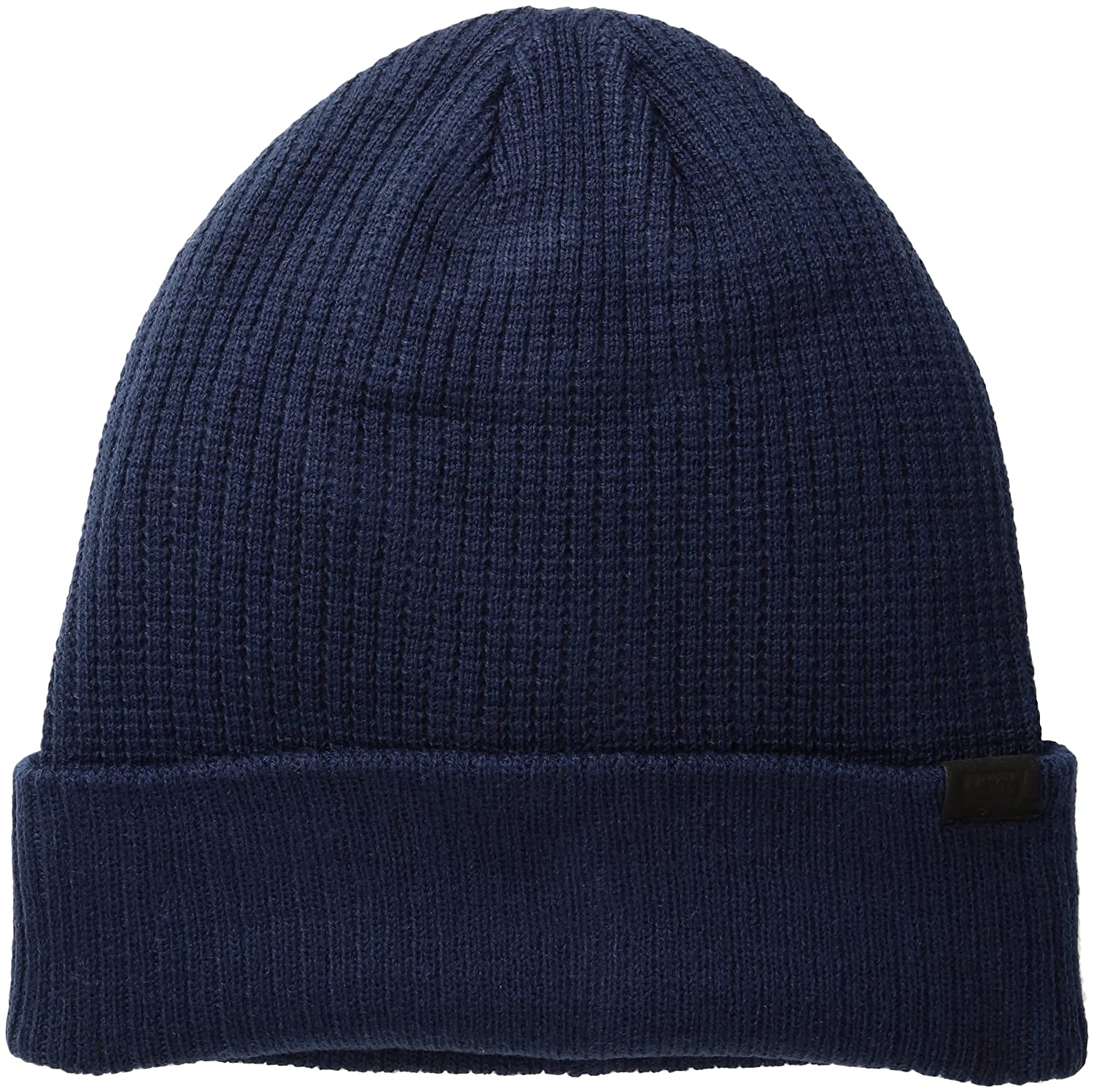 bb44e804 Levi's Men's Max Warmth Beanie with Solid Cuff Tipping Stripe, Khaki  Heather, One Size at Amazon Men's Clothing store: