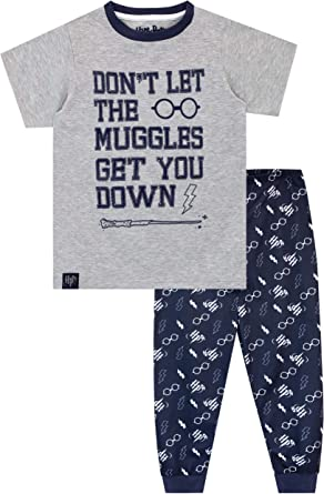Boys Harry Potter PyjamasHogwarts Marauders Map PJsHarry Potter Pyjamas
