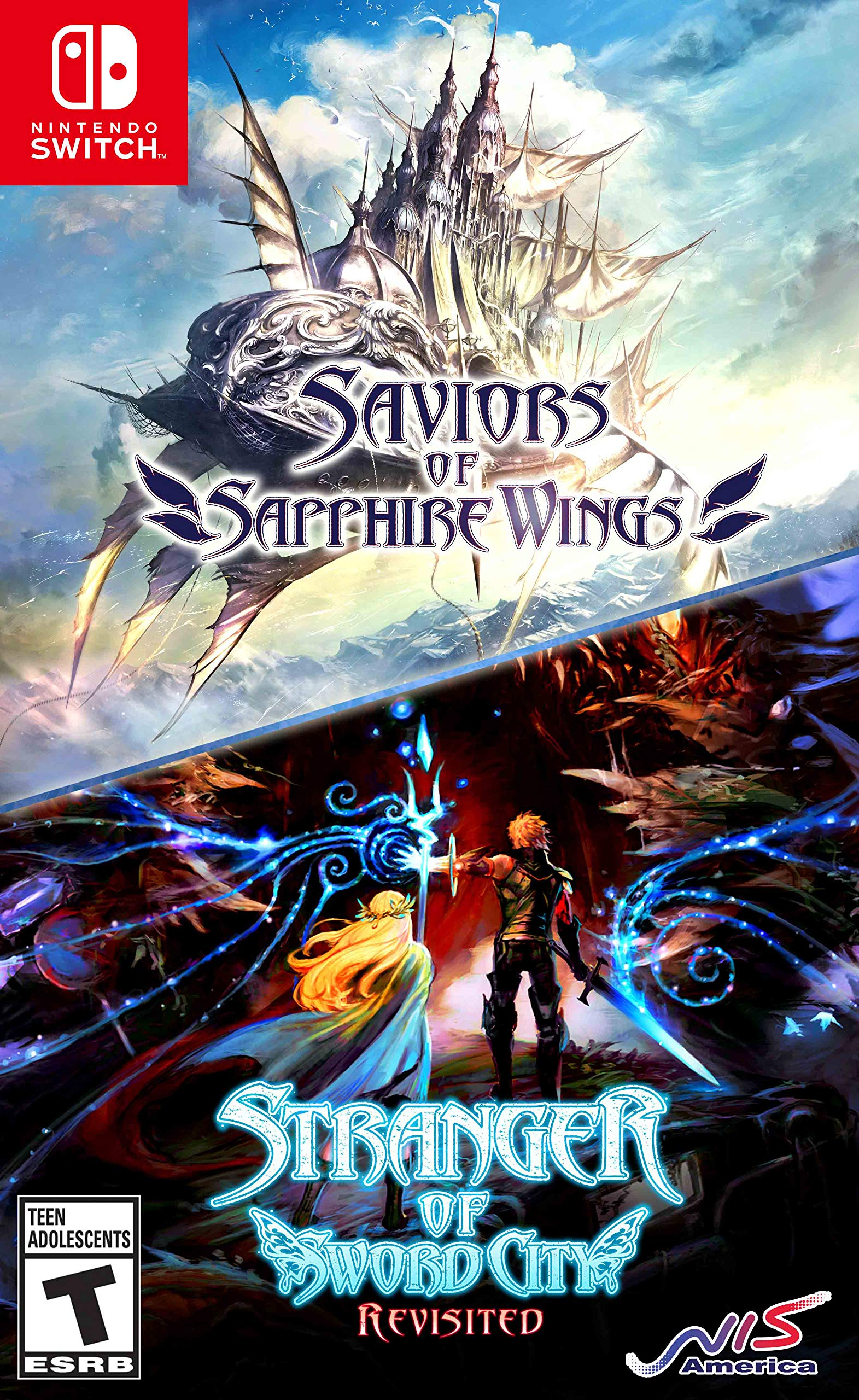 Poster. Saviors of Sapphire Wings / Stranger of Sword City Revisited