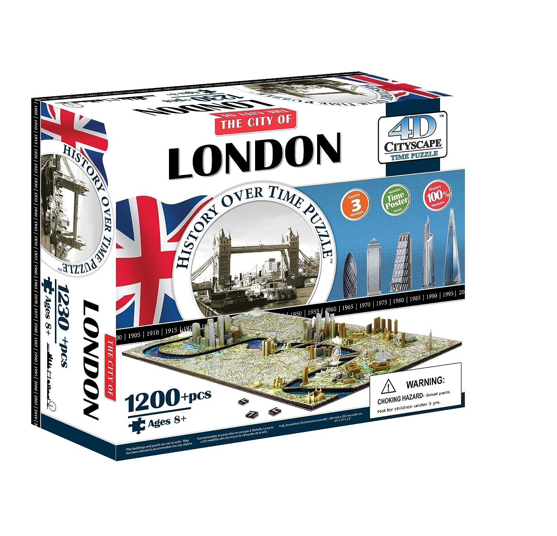 London 4D Cityscape Puzzle 4DCityscapeInc 4D Cityscape Inc CTY-4D102