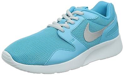 Nike Kaishi, Damen Laufschuhe, Blau (Clearwater/Mtlc Platinum-White 401)