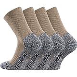 Lote de 2 pares de calcetines de senderismo transpirables.