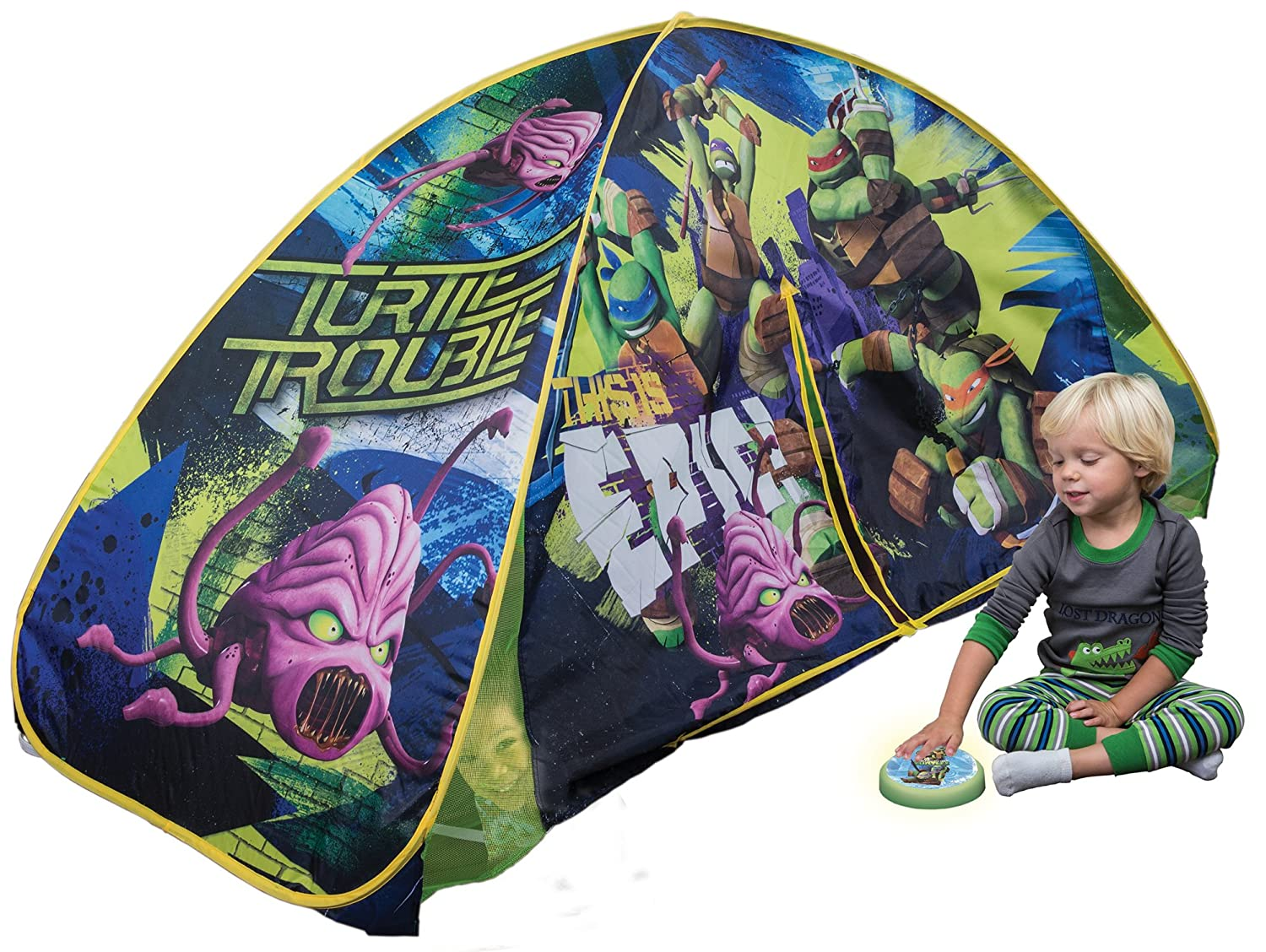Playhut Teenage Mutant Ninja Turtles Light Up Tent Amazon.co.uk Toys u0026 Games  sc 1 st  Amazon UK & Playhut Teenage Mutant Ninja Turtles Light Up Tent: Amazon.co.uk ...