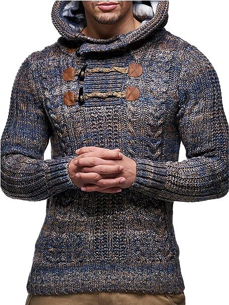 Hoody Arbeitspullover Sweat Shirt Pullover Winterpullover mit Kapuze schwar//grau
