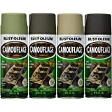 Rust-Oleum 269038 Specialty Camouflage Spray Pack, 12-Ounce, 6-Pack