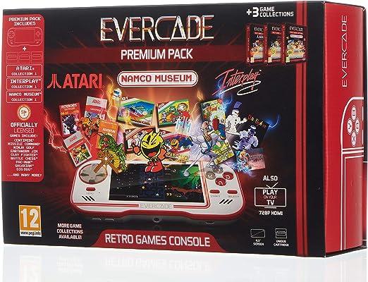 Evercade Premium Pack - Hardware: Amazon.es: Videojuegos