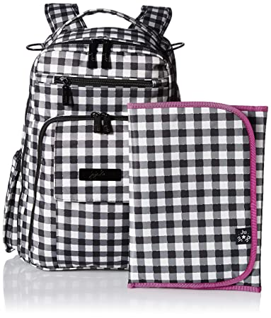 a98cc9db7070 Amazon.com   JuJuBe Be Right Back Multi-Functional Structured Backpack Diaper  Bag