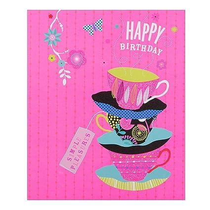 Hallmark - Tarjeta de cumpleaños fluorescente «Favourite ...