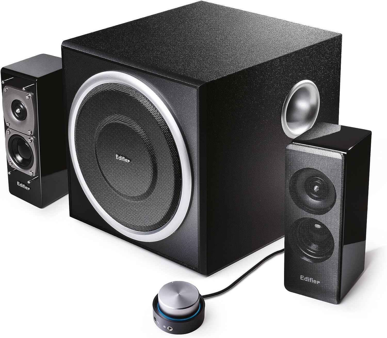 Edifier S330D - Sistema de audio 2.1 negro 72W