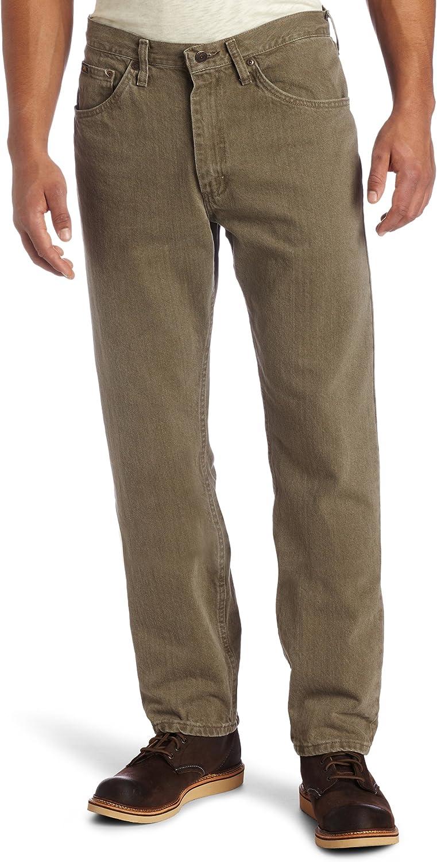 LEE Mens Regular Fit Straight Leg Jean
