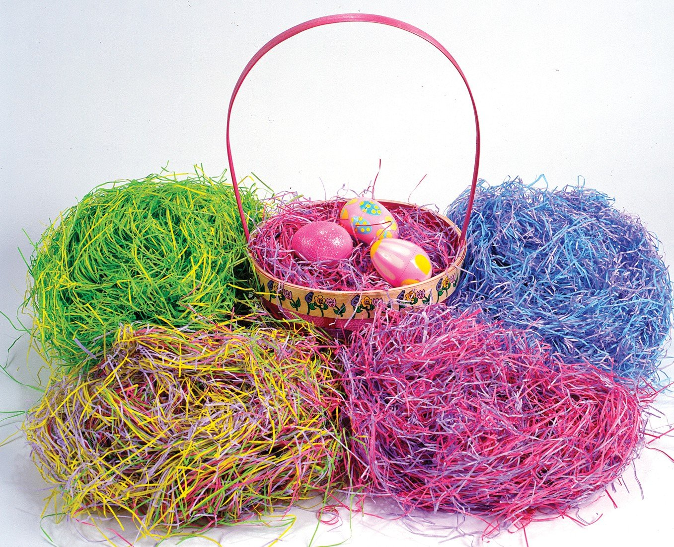 Amazon.com: Paper Easter Basket Grass - 100% Recycled Paper ...