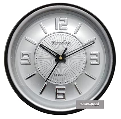 wall clock for office. CLOCK - Analogue Clock Aaradhya Wall OFFICE / GIFT Round Shape (BLACK) For Office I
