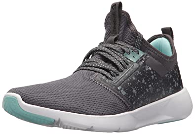 28227d7b341813 Reebok Women s Plus LITE 2.0 Sneaker ash Grey Blue Lagoon Black White 5