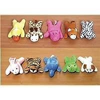 Skylofts Cute Imported 13cm Animal Soft Toys Fridge Magnets- Soft Toys for Boys & Girls (Pack of 4)