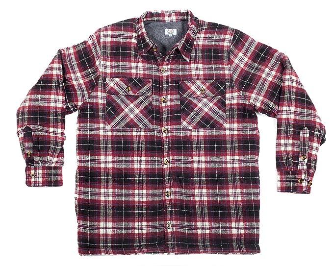 Amazon.com: North 15 sudadera con capucha Camisa (franela ...