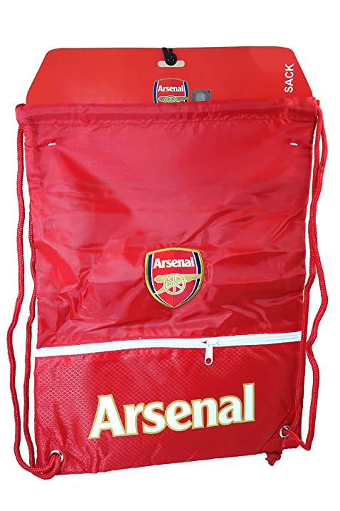 2c2e2e138fd6 Amazon.com: Arsenal Authentic Official Licensed Soccer Drawstring ...