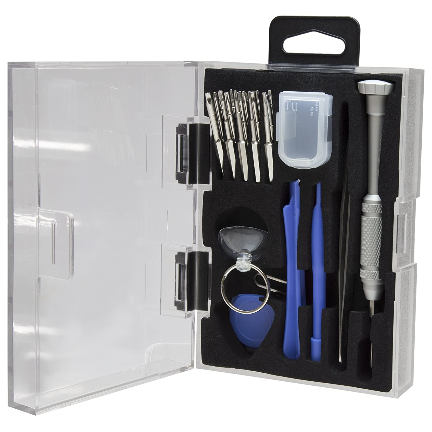 StarTech.com Cell Phone Repair Kit - with Case - Multipurpose - Computer Tool Kit - Electronics Kit - PC Tool Kit