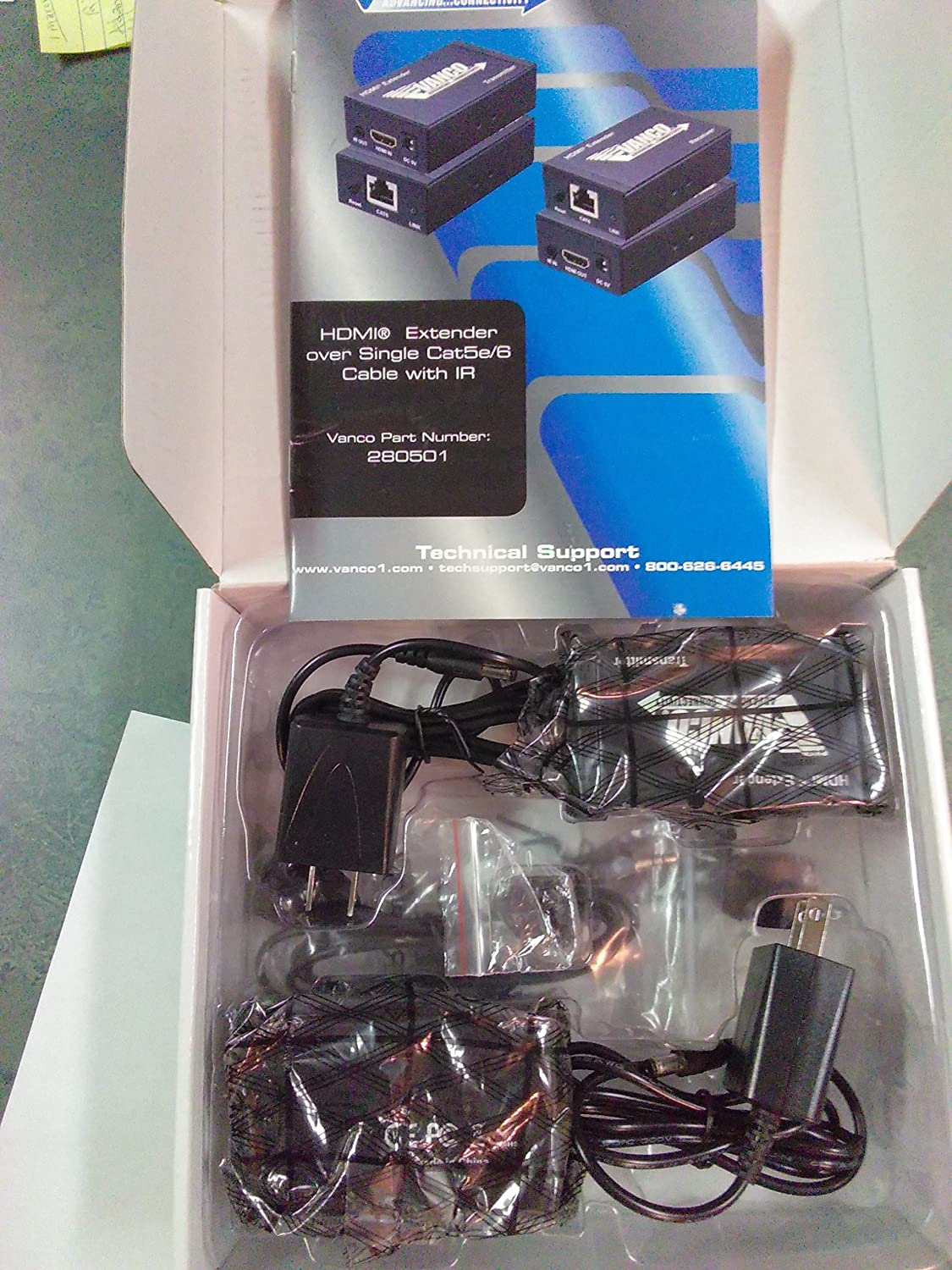Vanco HDMI Extender Over Single Cable 280501