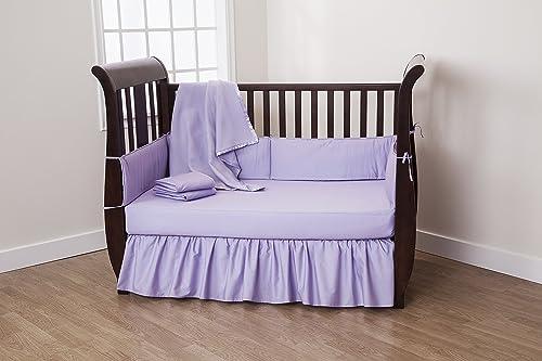 American Baby Company 5 Piece Cotton Percale Crib Set