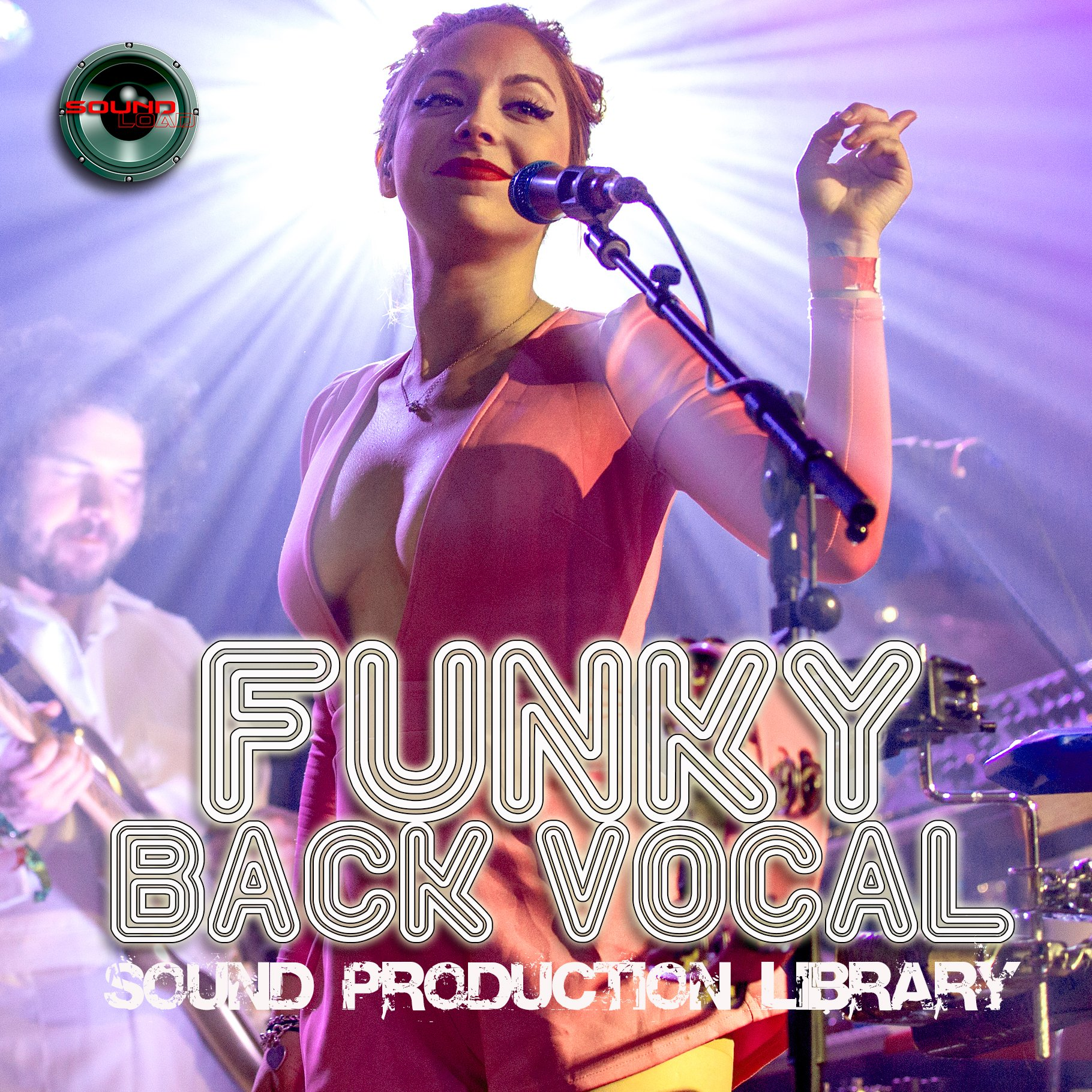 FUNKY BACK VOCAL - Large Unique Multi-Layer Studio WAV/Kontakt Samples Library DVD or download