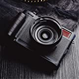 Wood Hand Grip Bracket Quick Release L Plate African Wooden Black Circular For FUJIFILM X100F X 100F