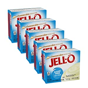 Jell-O Cheesecake Sugar Free Pudding & Pie Filling