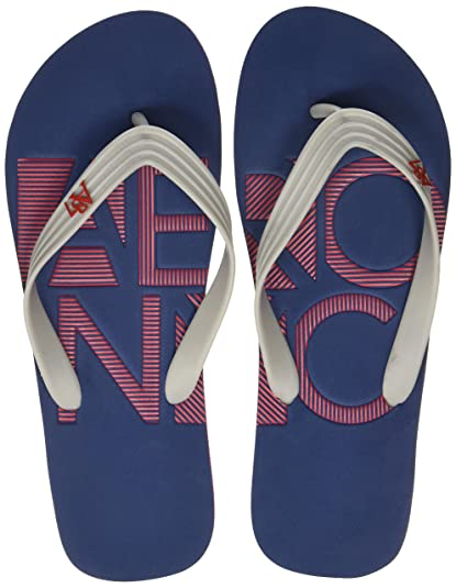 726906b883f1 Aeropostale Men s Columbus Blue Flip Flops Thong Sandals-10 UK India (44 EU