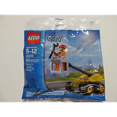 LEGO City, Repair Lift Set Bagged (30229): Toys & Games [5Bkhe0803933]