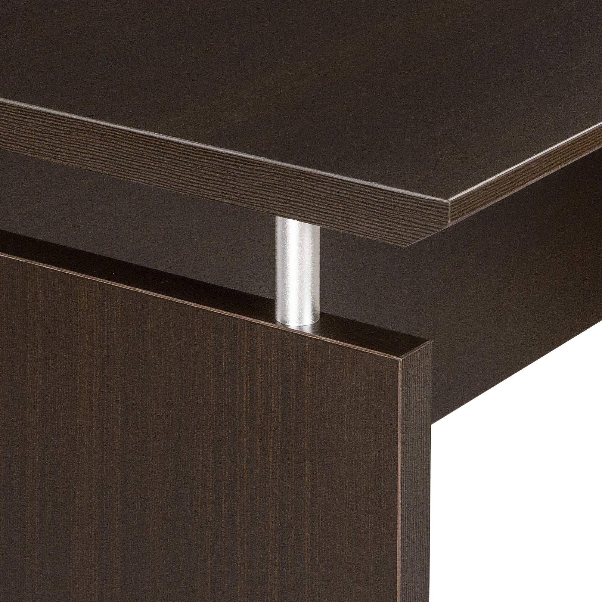 Safco Products MNCNZ72LDC Medina Credenza, 72'', Mocha by Safco Products (Image #4)