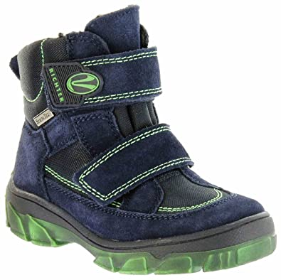 0a242e434a49b8 Richter Kinder Winter Stiefel blau Velour Sympatex Jungen Schuhe Warm  7333-831-7201 Atlantic