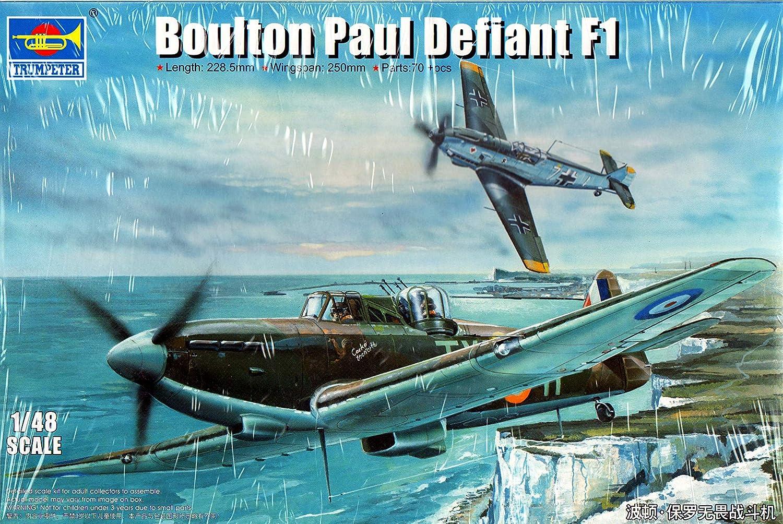 Trumpeter 02899 - Maqueta de Bouletta Ton Paul Defiant F1 ...