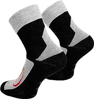 Tobeni 3 Pairs of Homesocks ABS Socks Non-slip Stoppersocks with Cover for Teenager Women and Men